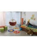 Fotel wiszący Kid's Globo ze stojakiem Hippo Amazonas