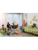 Zestaw - Fotel wiszący Kid's Globo ze stojakiem Carrello