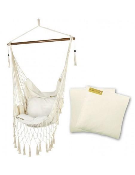Fotel hamakowy HC11P z poduszkami