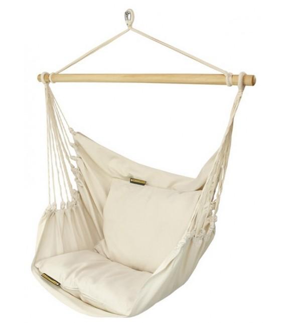 Fotel hamakowy jednokolorowy