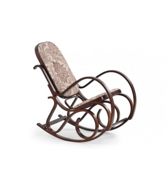 Fotel bujany Windsorow orzech