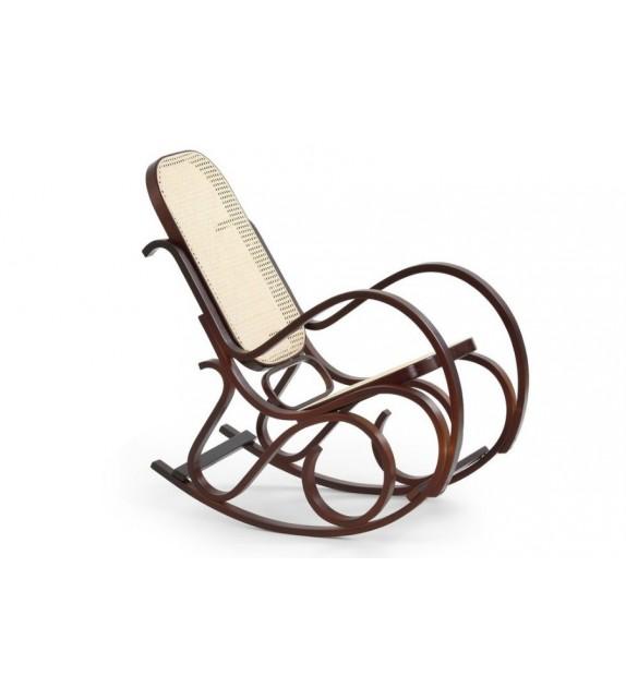 Fotel bujany Windsorow Bis orzech