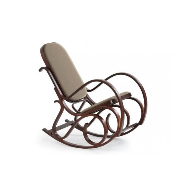 Fotel bujany Windsorow Max orzech