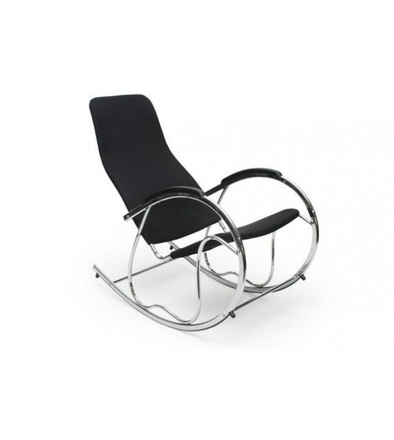 Fotel bujany Zen Black