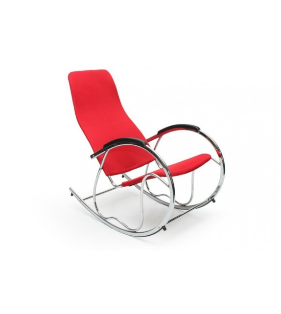 Fotel bujany Zen Red