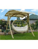 Fotel wiszący / Huśtawka Swing Bubble Wood