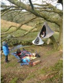 Wiszący namiot Cacoon Deep Taupe 2os.