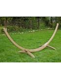 Stojak drewniany na hamak - Average