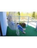 HC11 - Fotel hamakowy z poduszkami
