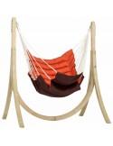 Zestaw California - Fotel hamakowy ze stojakiem Taurus