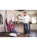 Zestaw Omega set grenadine - Fotel hamakowy ze stojakiem