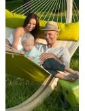 Zestaw Alabama - hamak rodzinny ze stojakiem Canoa