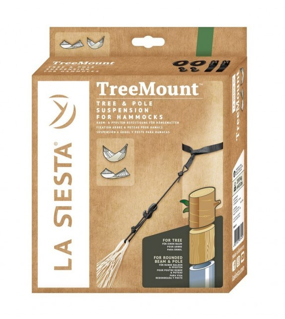Zestaw montażowy do hamaka - TreeMount Black