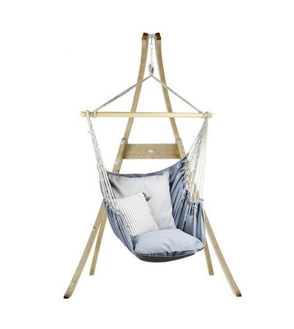 Fotel hamakowy do salonu