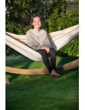Ogrodowy hamak ze stojakiem