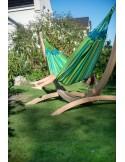 Hamak ogrodowy ze stojakiem