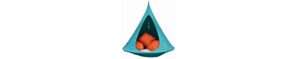 Wiszące namioty Cacoon